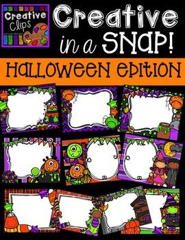 Creative in a SNAP: HALLOWEEN Edition {Creative Clips Digi