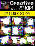 Creative in a SNAP: SPRING Edition {Creative Clips Digital