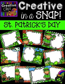 Creative in a SNAP: ST PATRICK'S DAY Edition {Creative Clips Digital Clipart}