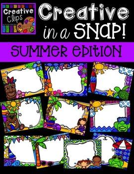 Creative in a SNAP: SUMMER Edition {Creative Clips Digital
