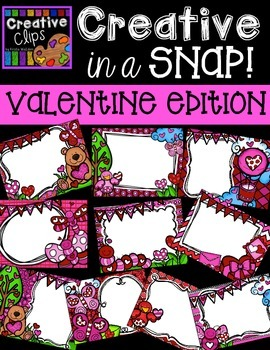 Creative in a SNAP: VALENTINE Edition {Creative Clips Digi