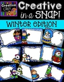 Creative in a SNAP: Winter Edition {Creative Clips Digital