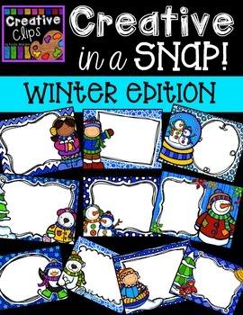 Creative in a SNAP: Winter Edition {Creative Clips Digital