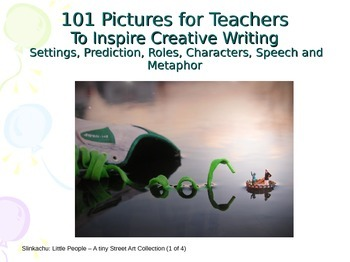 Creative writing - pictures for metaphor, characters, settings and prediction!