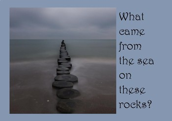 A5 Creative Writing Prompt Card - What came from the sea?