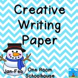 Creative writing Paper January/February