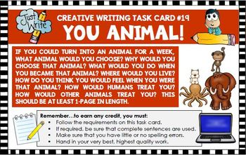 Creative Writing Activities Bundle