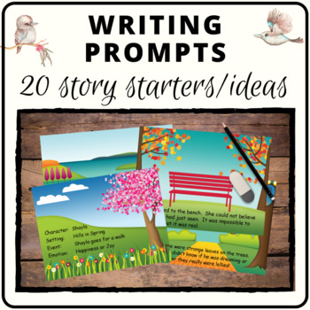 Creative writing cards