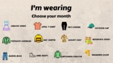 Creative writing clothes: I'm wearing...