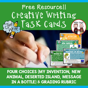 Creative Writing Ideas and Task Cards