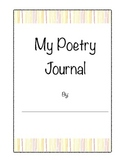 Creative writing poetry journal