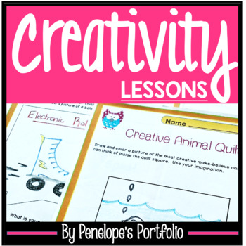CREATIVITY Character Education Packet
