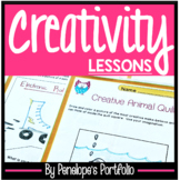 CREATIVITY Poster and Activities - Character Education