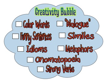 Creativity Bubble