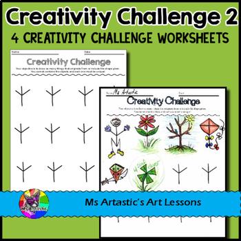 Creativity Challenges Bundle, Art Lessons