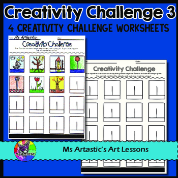 Creativity Challenges, Art Lessons #3