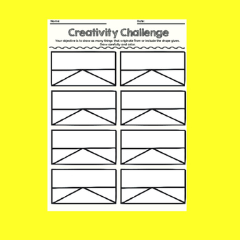 Creativity Challenges, Art Lessons #5