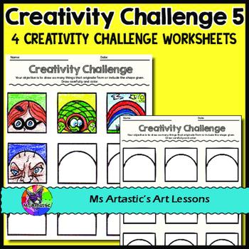 Creativity Challenges, Art Lessons #5