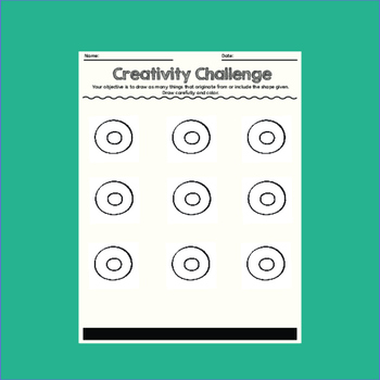 Creativity Challenges, Art Lesson #6