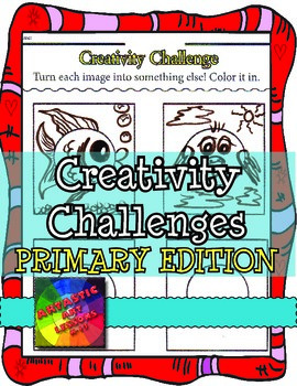 Creativity Challenges for PRIMARY Students: Art Lesson