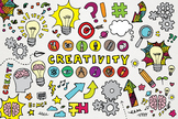 Creativity Clipart - Arts and Science Back to School Illustrations