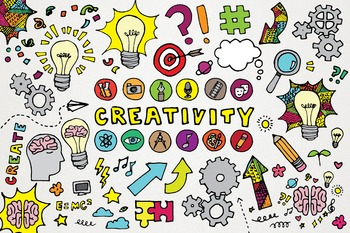 Creativity Clipart - Arts and Science Back to School Illus