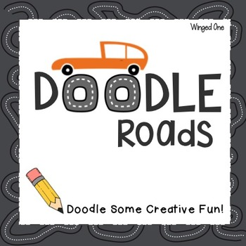 Creativity Drawing: Doodle Roads