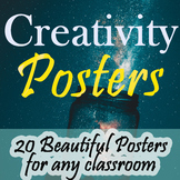 Creativity Posters - 10 High-quality Classroom Posters