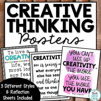Creative Thinking Posters