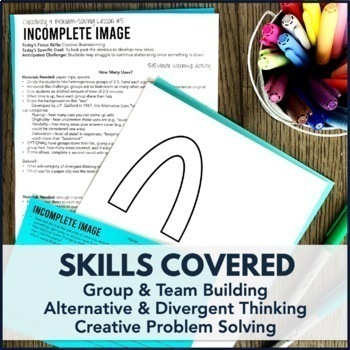 Creativity & Problem Solving Skills Activity 6-Pack