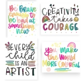 Creativity Quotes- 4 Classroom Posters