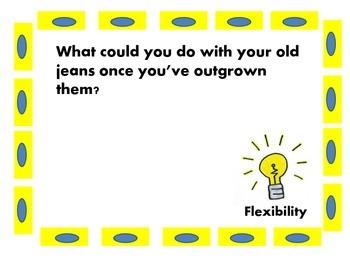 Creativity Task Cards (Twenty First Century Skills)