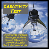 Creativity Test Activity for a Group