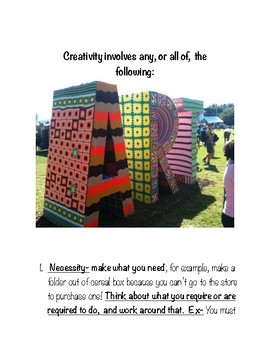 Creativity- The Essential Elements You Can Easily Tap Into