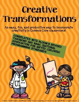 Creativity Transformations Packet