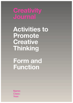 Creativity Workbook: Form and Function LITE