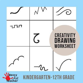 Creativity Worksheet for K-12th grades