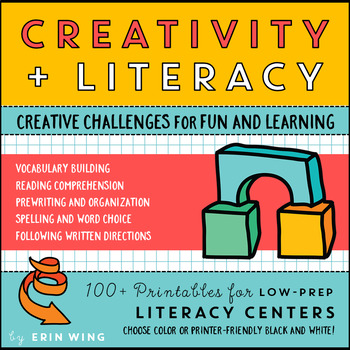 Creativity and Literacy: Low-Prep STEM, Arts and Movement Centers