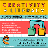 Creativity and Literacy: Low-Prep, Hands-On Centers