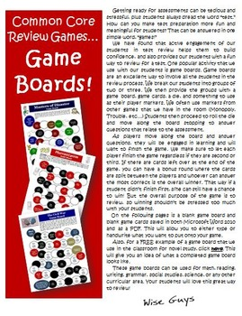 Free Game Boards for Review