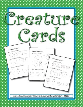 Creature Cards ★ FREEBIE ★