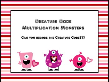 Solve the Code Multiplication Fact Practice