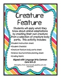 Creature Feature: Animal Adaptations Activity