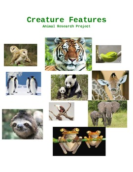 Creature Features (Animal Research Report)