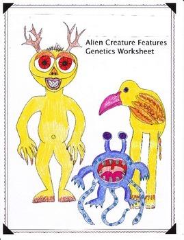 Creature Features Genetics Worksheet