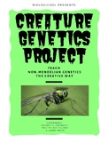 Creature Genetics: A Creative Project for Learning Non-Mendelian Genetics