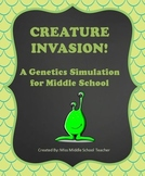 Genetics Project/Simulation: Creature Invasion!