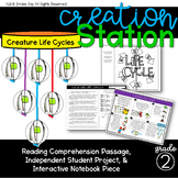 Creature Life Cycles {Creation Station}