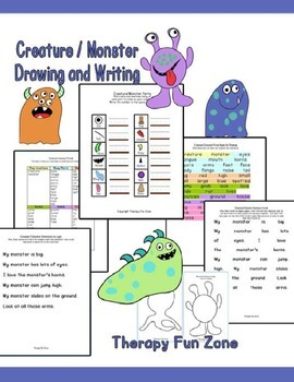 Creature / Monster Drawing and Writing