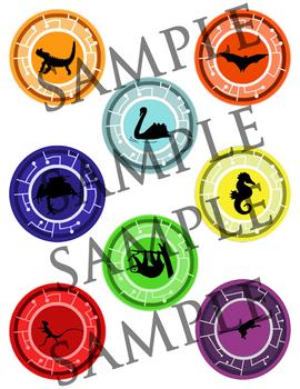 Creature Power discs (1)